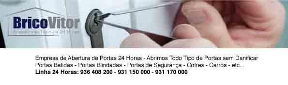 Abertura de Portas Margaride - Chaveiro 24 Horas